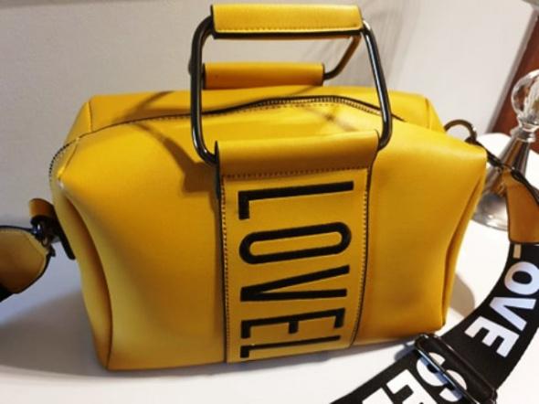 Torebka żółta LOVE