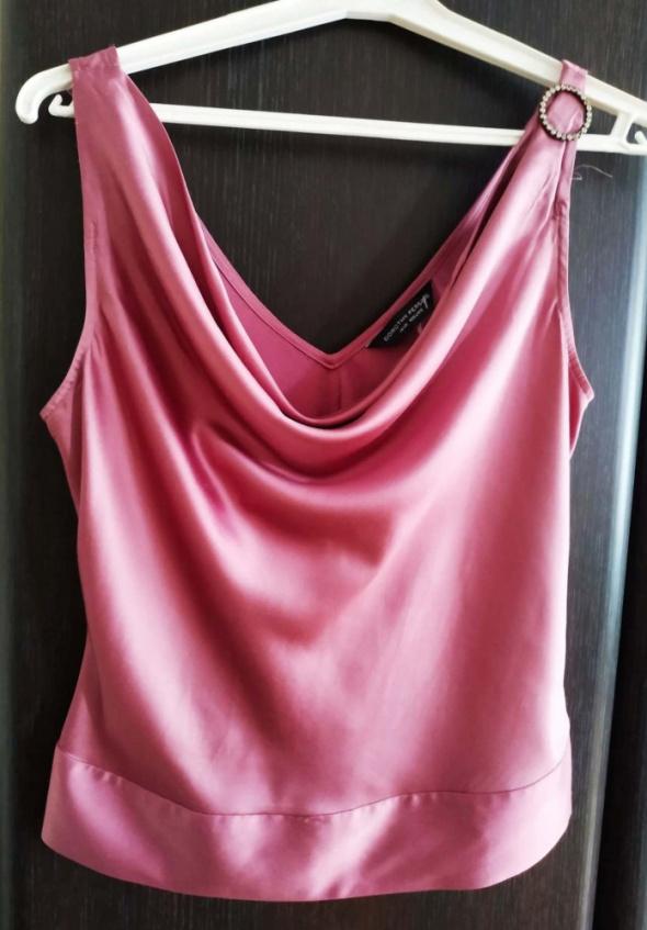 Bluzka wrzosowa satynowa Dorothy Perkins 42 XL