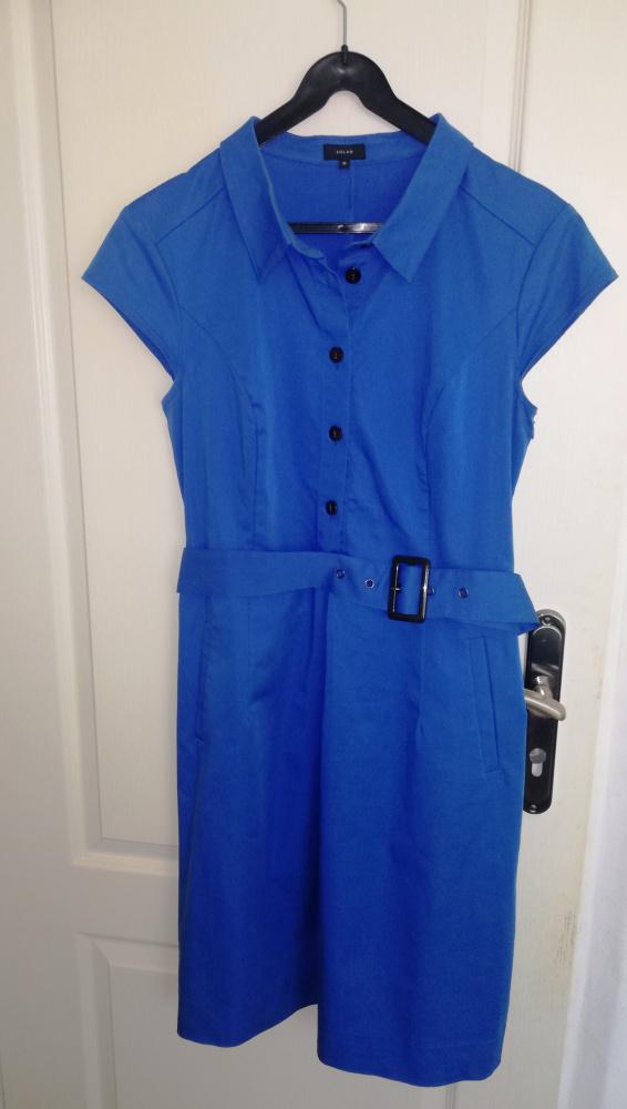 sukienka ołówkowa niebieska Solar...