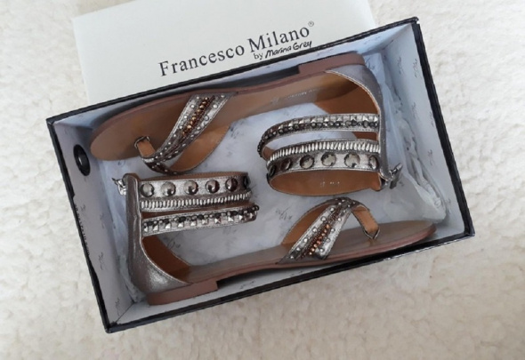 Nowe buty Francesco milano