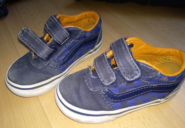 Obuwie Vansy 21 chłopięce buty