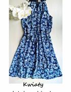 Letnia sukienka w kwiaty S M...