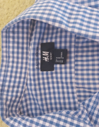 Koszula HM roz M niebieską krata meska...