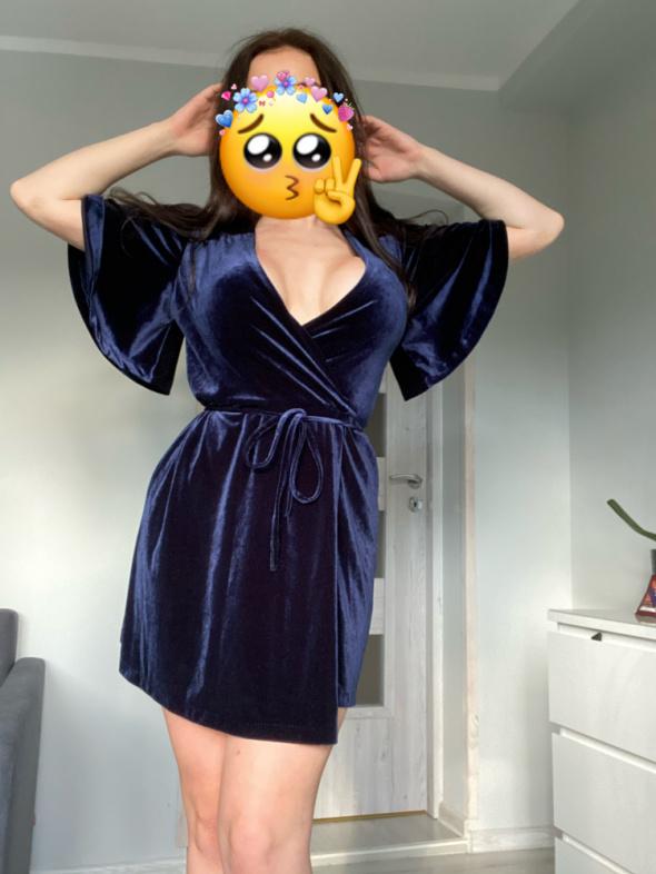 Sukienka welur