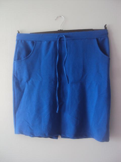 dresowa chabrowa spódnica