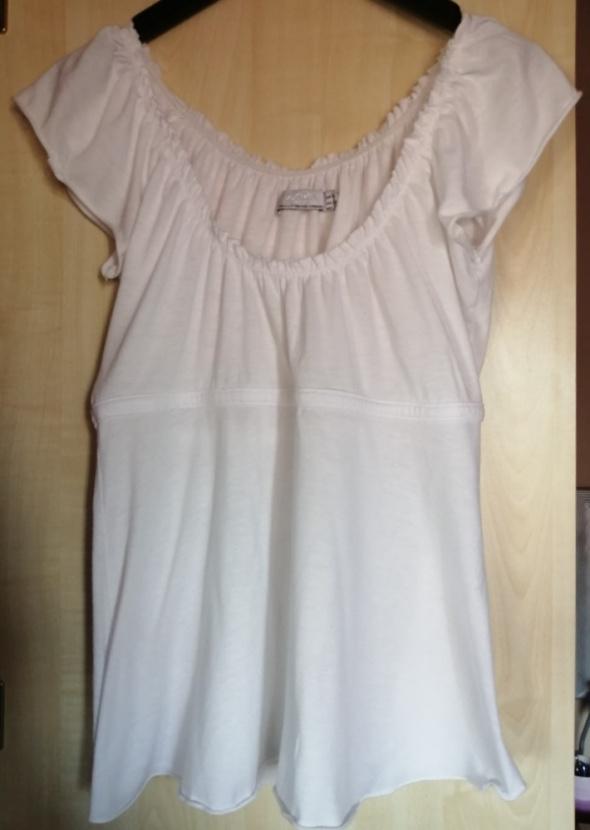 Biała koszulka Zara