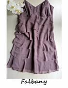 Elegancka sukienka Esprit 40 42 wesele impreza falbany...