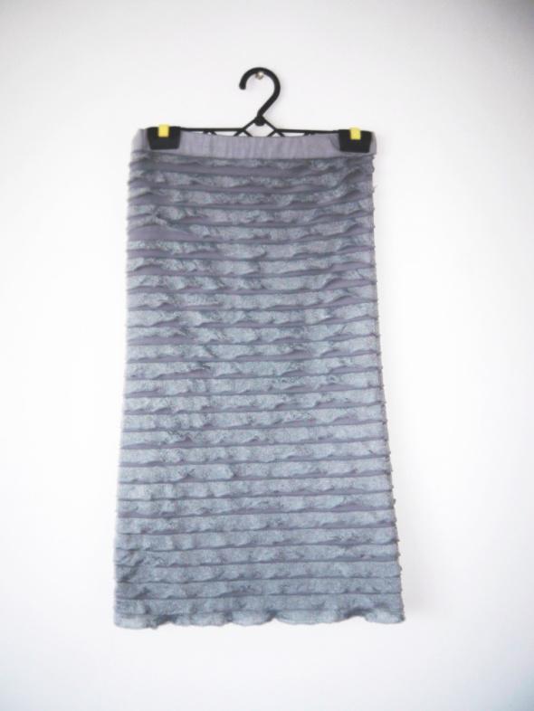 Tuniki NOWA szara tunika sukienka z falbankami goth