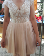 Sukienka z tiulem...