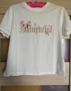 Biały Tshirt z napisem