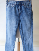 Spodnie Vintage Fit 26 S 36 H&M Dzins Jeans...