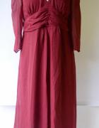 Sukienka Czerwona Asos Maternity XL 42 Elegancka Mama NOWA...