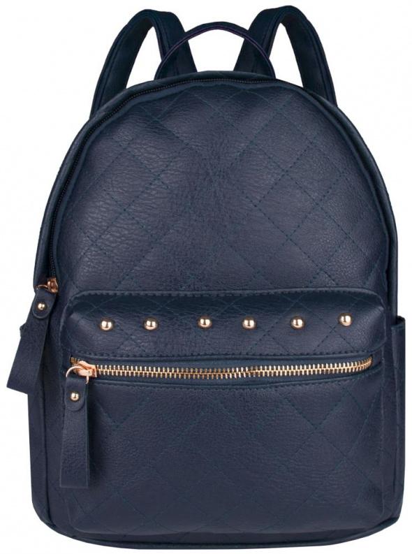 Plecaki Mały plecak z dżetami pikowany