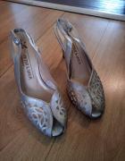Ażurowe sandały damskie 39 PETER KAISER...