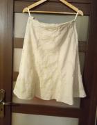 LNIANA beżowa spódnica...