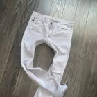 Esprit szare marmurki jeansy wysoki stan super