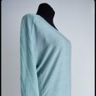 Miętowa bluzka ze srebrną nitką rozmiar 40 L