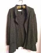 Ciemno szary gruby sweter Marks&Spencer rozmiar 40...