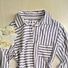 Koszula tunika bawełna S M paski Primark