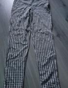 Spodnie w kratkę Topshop Petite wygodne elastyczne M...