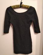 Czarna koronkowa sukienka mała czarna koronka Atmosphere 36...