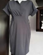 Szara sukienka M Jot Fashion