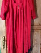 Czerwona sukienka 6XL...