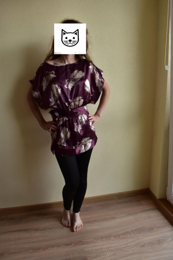 Bluzki Bluzka Kimono Nietoperz Oodij 36s
