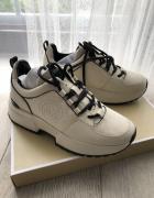 Nowe oryginalne sneakersy Michael KORS na platformie 35...
