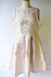Sukienka NOWA Złota Różowa XL True Decadence...