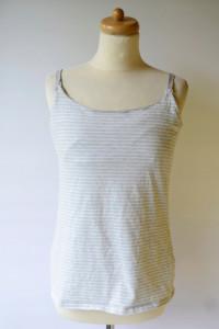 Koszulka Bluzka H&M Mama Paski Szara S 36 Do Karmienia