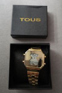 Zegarek złoty na branzoletce TOUS glamour