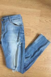 spodnie a la boyfriend jeans bershka 34 xs...