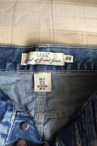 H&M spodenki jeans...