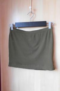 HM mini spódniczka khaki bodycon...