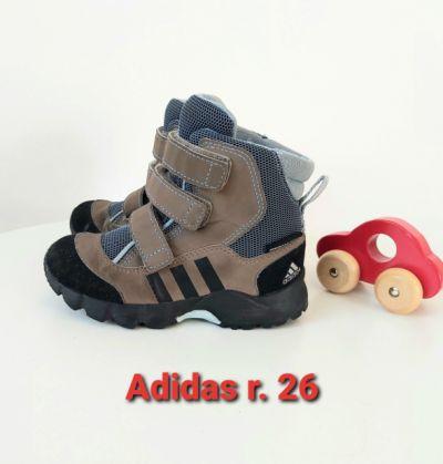 Obuwie Zimowe buty dla chłopca 26 Adidas