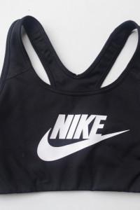 Stanik Sportowy Czarny Nike Dri Fit XS 34 Top Fitness...