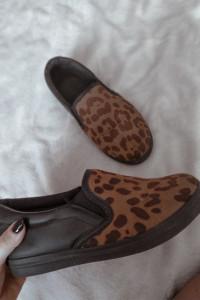 Panterkowe buty Slip On 36