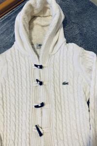 Sweterek zapinany Lacoste S M