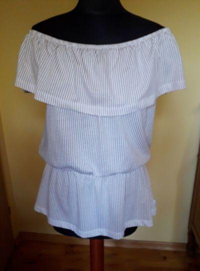 Bluzki NOWA bluzka hiszpanka baskinka Diverse M 100 procent bawełna