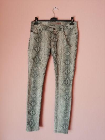 Spodnie wezowe rurki 40 42