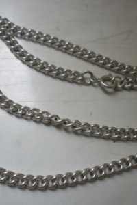 Srebrny masywny autorski łańcuszek ponad 16 gramów