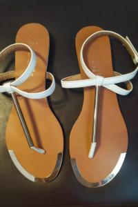 Buty sandały japonki złote zdobienia 38...