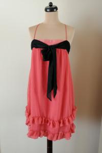 H&M nowa sukienka kokarda z falbanami 38 40 42...