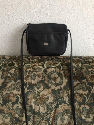 Torebki na co dzień Czarna torebka vintage Marc Chantal