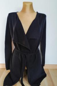 Granatowy sweter firmy Orsay nowy S...