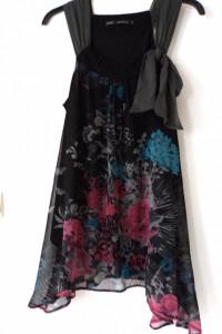 Next prześliczna asymetryczna sukienka tunika mgiełka...