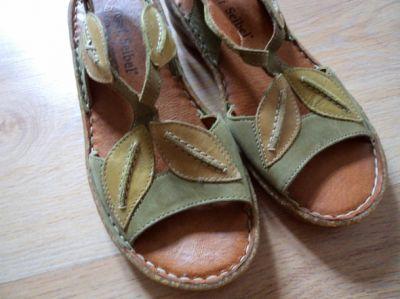 Sandały Śliczne skórzane sandały JOSEF SEIBEL