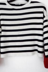 STRADIVARIUS krótki sweterek bluzeczka cudo...