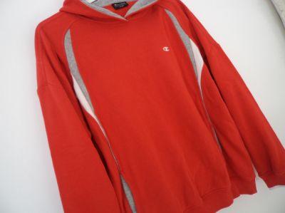 Bluzy Champion śliczna bluza kolor czerwono szary